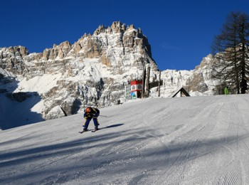 Skiing area Rotwand
