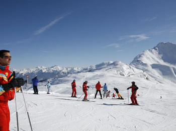 Skiing in Ratschings