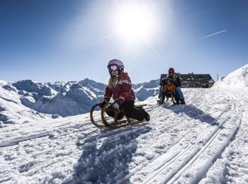 Slittino a Mayrhofen-Hippach
