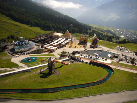 Sommer-Funpark in Fiss