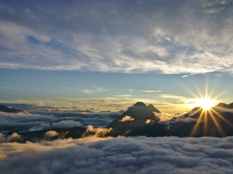 Sonnenaufgang bei Seefeld