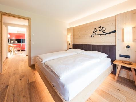 Appartement deluxe mit 2 Zimmern - luscinia-1