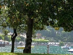 Sponde del lago a Garda