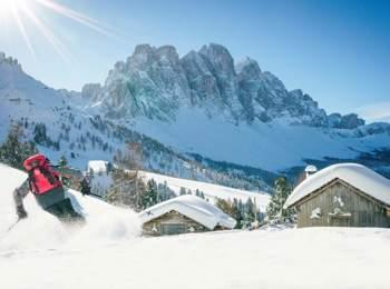 Sport invernali a Funes