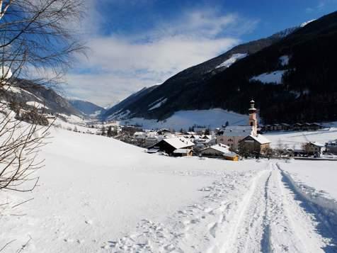 St. Johann im Ahrntal im Winter