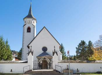 St. Katharina church in Corvara
