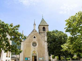 St. Martin parish church in Kurtinig