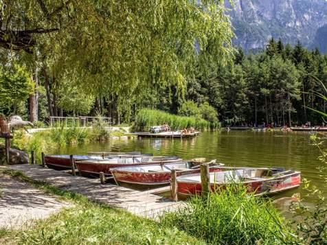 Swimming pond Völs am Schlern