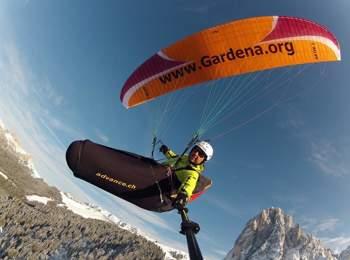 Tandem flights in the Dolomites