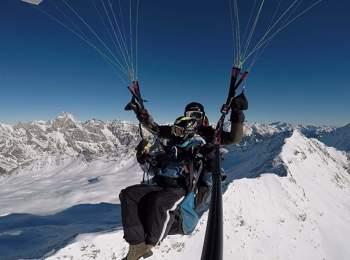 Tandem-Paragliding Seiser Alm
