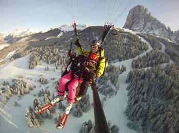 Tandemflüge in den Dolomiten