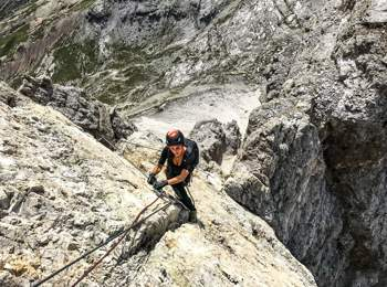 Tomaselli fixed-rope route