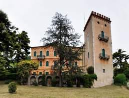 Torre Civica and Villa Trabucchi
