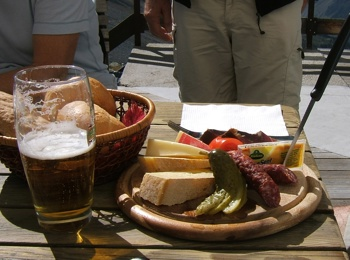 Traditional South Tyrolean Snack