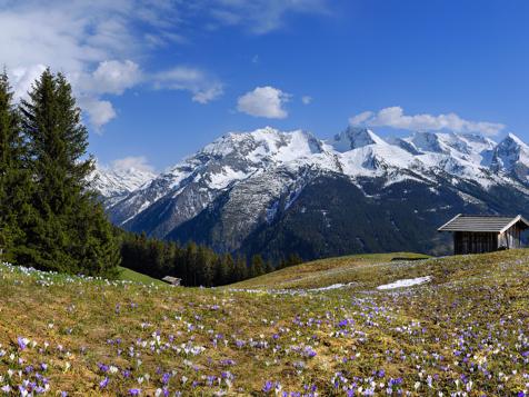 Tux-Finkenberg nella valle dello Zillertal