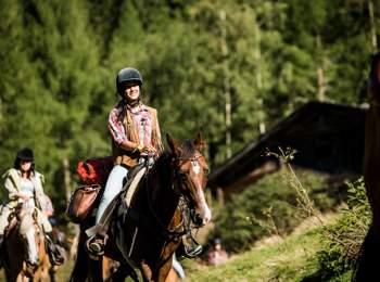 Vacanze a cavallo in Valle di Tures e Aurina