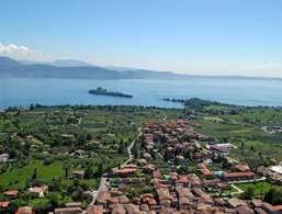 Vista su San Felice del Benaco