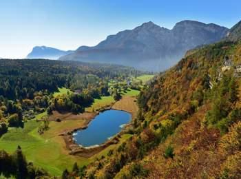 Vista sul Lago di Favogna