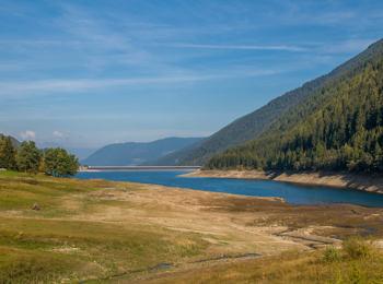 Vista sul Lago di Zoccolo