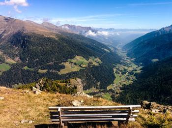 Vista sulla Val d'Ultimo