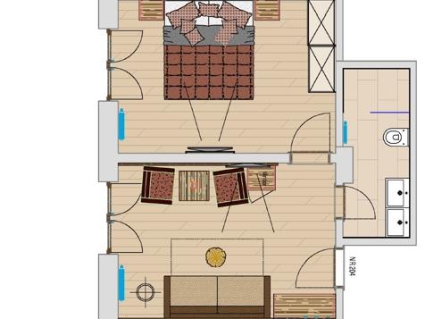 Suite Südbalkon im Stammhaus-2
