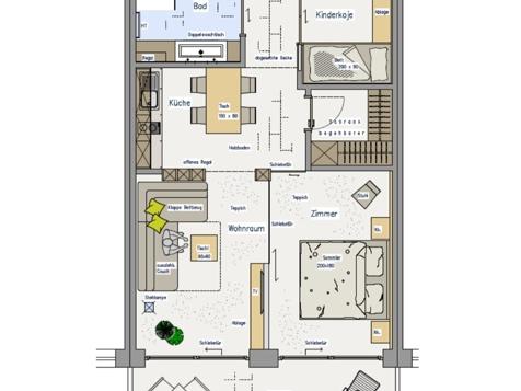 Suite Südbalkon in der Residence-3