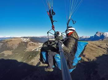 Voli in parapendio biposto Alpe di Siusi