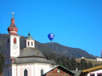 Volo in mongolfiera sopra Alto Adige