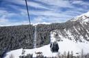 Wandern im Winter – Seilbahn auf den Gitschberg