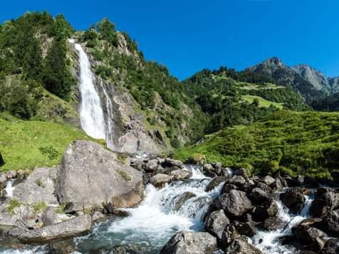 Waterfall in Partschins