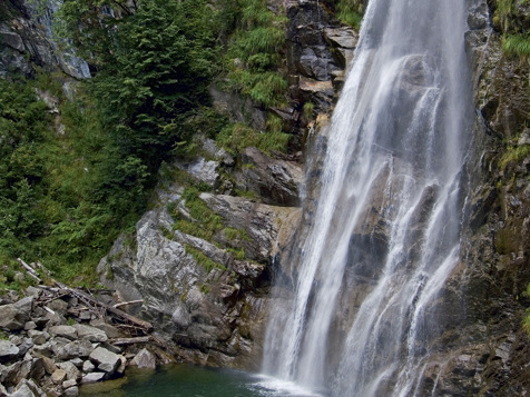 Waterfall in St. Martin in Passeier