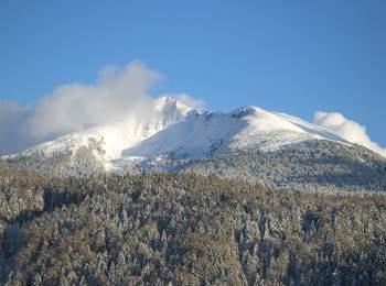 Weißhorn im Winter