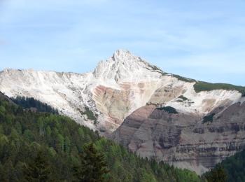 Weißhorn mit Bletterbach-Schlucht