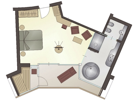 "Suite de luxe ""Penthouse""-5"