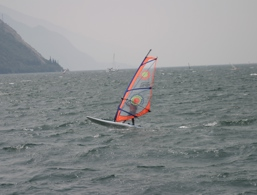 Windsurf on the Lake Garda