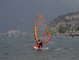 Windsurfen am Gardasee