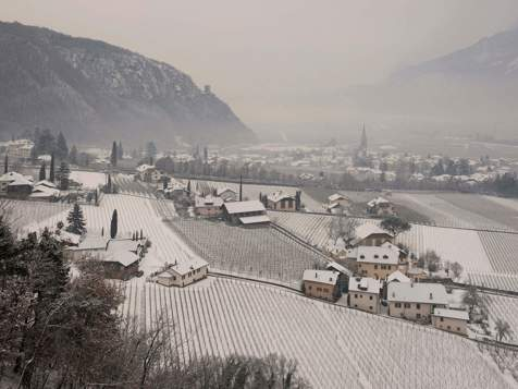 Winter im Weindorf Terlan