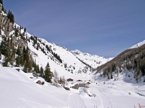Winterlandschaft in Kasern