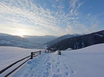 Winterwandern am Watles