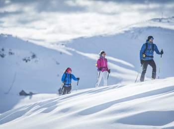 Wonderful ski tour at Mt. Kronplatz holdiay region