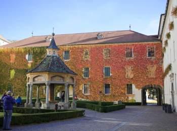Wunderbrunnen im Kloster Neustift