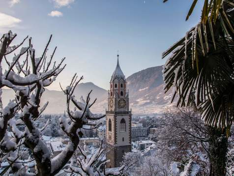 Zauberhafter Winter in Meran