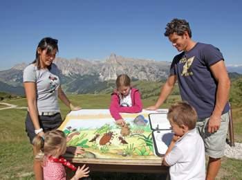 Zona escursionistica Alta Badia